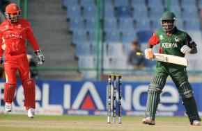 Canada beats Kenya by five wickets for rare World Cup win