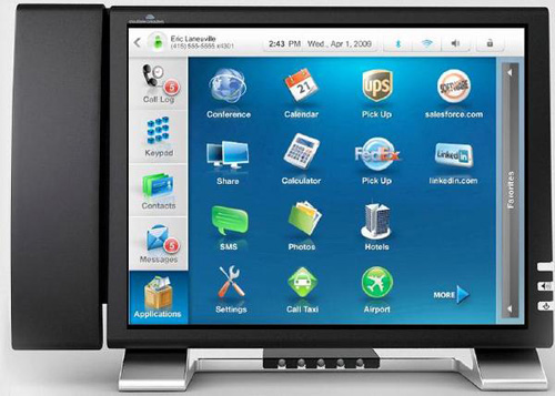 Android Desktop Phone PHOTO - Innovative Product Designs and Gadgets