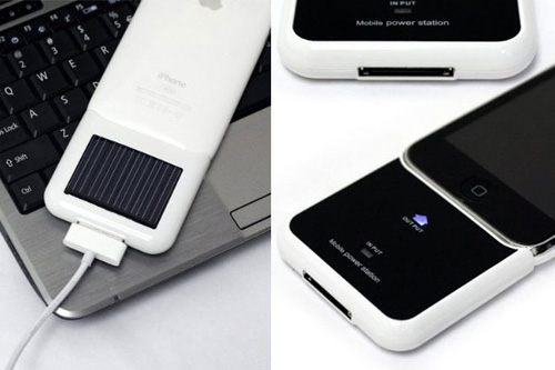 iPhone 3G Solar Recharger - Innovative Product Designs and Gadgets