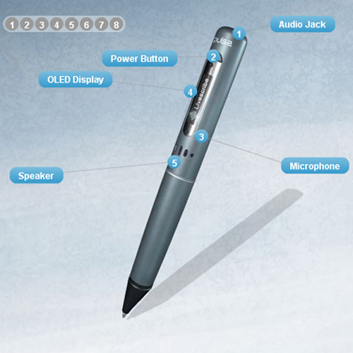 LiveScribe Pulse Smart Pen - Innovative Product Designs and Gadgets